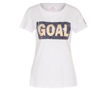 T-Shirt 'Caroline' weiß