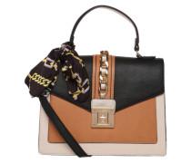 Handtasche 'glendaa' beige / schwarz / offwhite