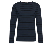 Langarm-Shirt mit Streifen 'Orvar' navy