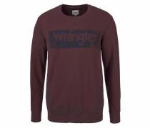 Sweatshirt marine / burgunder