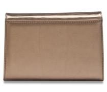 Auguri Damentasche Leder 19 cm silber