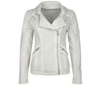 Sweatjacke Biker Jacket Ride Like grau