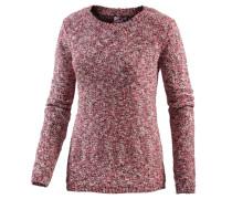 Strickpullover Damen rosa / weiß
