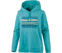Horizon Line-Up Lightweight Hoodie Damen blau