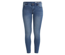 Power Stretch Jeggings blau
