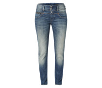 'Raya Boy' Boyfriend Jeans blau