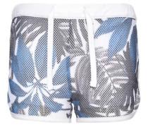 Shorts 'nitjamesh' himmelblau / dunkelgrau / weiß