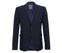 Slim: Stretchiges Sakko blau