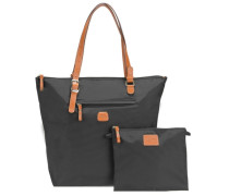 X-Bag Shopper 33 cm cognac / schwarz