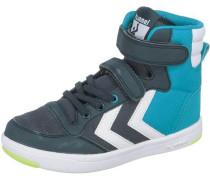 Sneakers High 'ripstop' nachtblau / aqua