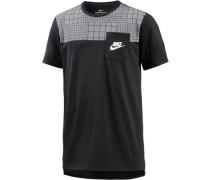 T-Shirt 'av15' schwarz