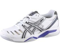 Tennisschuhe 'Gel Challenger 9' grau / silbergrau / lila / weiß
