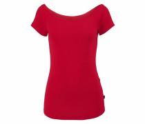 Carmenshirt Off-Shoulder rot