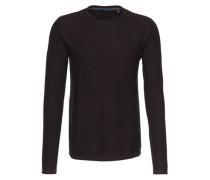 Strukturierter Pullover lila