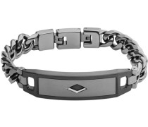 Armband mit Carbon »Mens Dress Jf02366793« silber