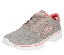 Sneaker Low 'Go Walk 4 Exceed' hellgrau / pink