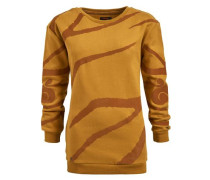 Sweatshirt Malisa orange / pastellrot
