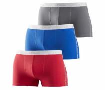 Boxer (3 Stück) blau / grau / rot