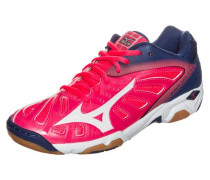'Wave Volcano' Handballschuh Damen navy / pink