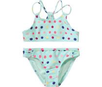 Kinder Bikini 'rainbow' blau / türkis