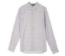 Bluse aus Viskose weiß