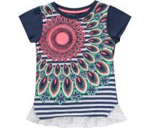 T-Shirt für Mädchen blau