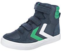 Sneakers High blau / grün