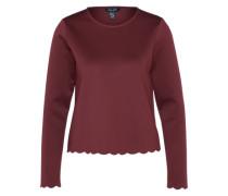 Shirt 'scallop' burgunder