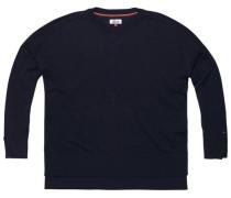 Pullover 'thdw CN Sweater L/S 43' nachtblau