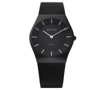 "Armbanduhr ""11935-222"" schwarz"