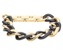 Armband 'Ceramia' gold / schwarz