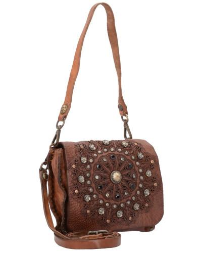 Campomaggi Damen Prestige Mini Bag Schultertasche Leder 19 cm Freies Verschiffen Browse Oft9Y1