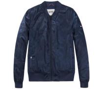 Outdoorjacke »Thdm Camoflauge Bomber 19« blau