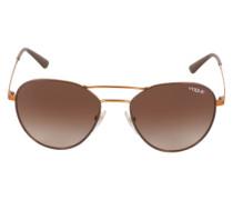Sonnenbrille braun / bronze