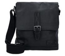 Umhängetasche 'Bali' 23 cm schwarz