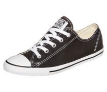 Chuck Taylor All Star Dainty OX Sneaker Damen schwarz