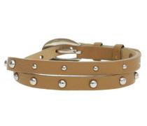 Armband in trendigem Design 'Rock Rio Caramel Brown mit Nieten-Besatz Esbr11335A380'