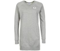 Core Sweatshirt Kleid grau