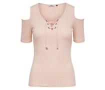 Cold-Shoulder-Shirt pink