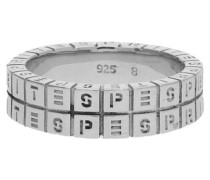 Fingerring 925 Silber Perfect Match 'esrg91084A' silber
