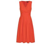 Kleid 'sarah' orangerot