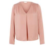 Bluse 'Virustic' mit Pailletten-Verzierungen rosa