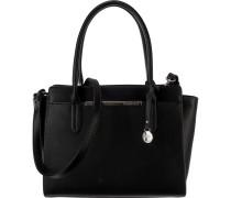 Handtasche 'Petra' schwarz