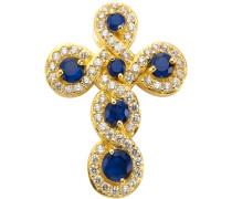 Kreuz-Anhänger gold