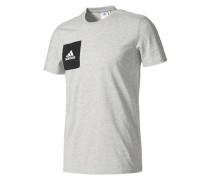T-Shirt 'Tiro 17 Ay2964' graumeliert