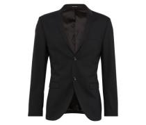 Sakko 'evert' aus hochwertigem Woll-Gemisch schwarz