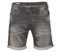 Jeansshorts Rick Original grau / schwarz