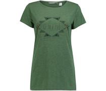 T-Shirt 'reflection' grün