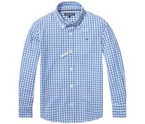 Hemd »Carter Gingham Shirt L/s« blau
