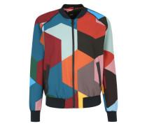 Bomberjacke im Colourblocking-Stil mischfarben